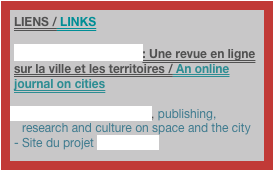 LIENS / LINKS
